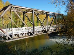 Oso footbridge